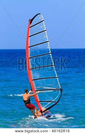 windsurfing Recreation in Greece
