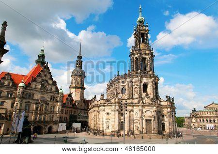 Theaterplatz, Dresden