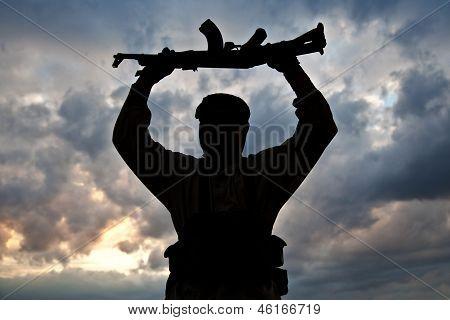 muslimische Kämpfer