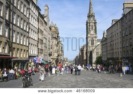 Royal Mile Edinburgh Old Town