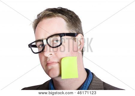 Blank Marketing Manager Seeking Inspiration Idea