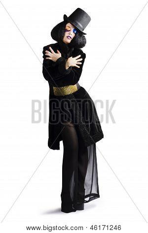 Stylish High Fashion Woman