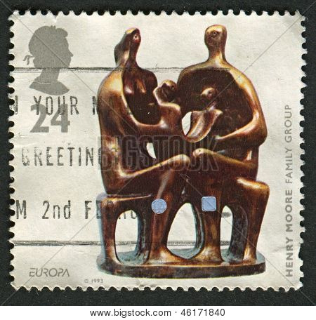 UK - CIRCA 1993: A stamp printed in UK shows image of the