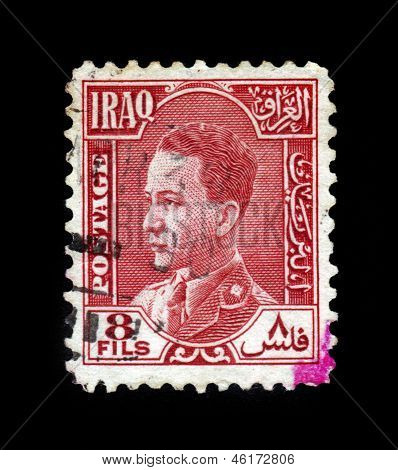 Ghazi Bin Faisal, King Of The Hashemite Kingdom Of Iraq