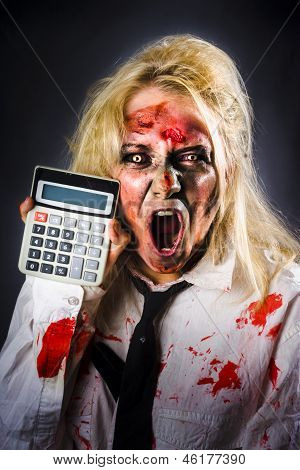 Finance Tax Accountant. Return From The Dead