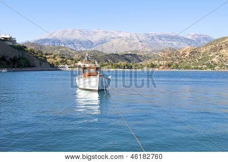 Agia Galini on Crete