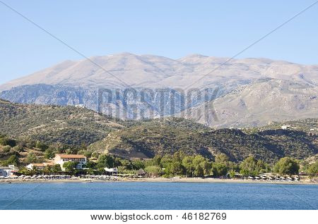 Agia Galini in south Crete