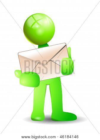 Green Postman