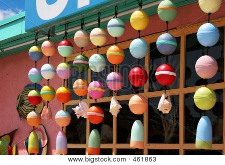 Colorful Shell Shop Exterior