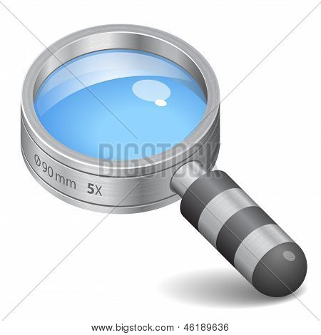 Icon For Magnifying Glass