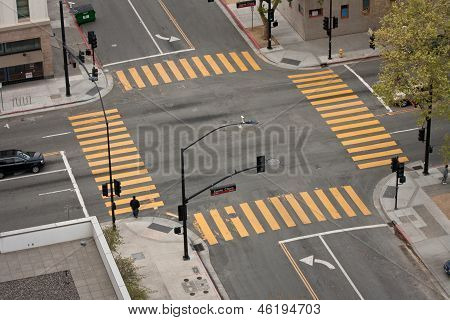 City Street Intersection