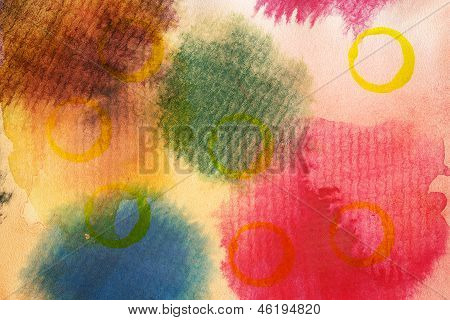 Designed Abstract Art Background