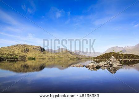 Rannoch Moor Highlands da Escócia