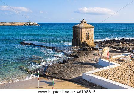 Panoramic view of Santa Maria di Leuca. Puglia. Italy.