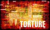 stock photo of interrogation  - Torture In Interrogation and a Extreme Punishment - JPG