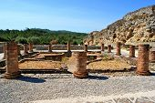 picture of exhumed  - Portuguese Roman ruins in Conimbriga - JPG