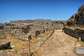 stock photo of exhumed  - Roman ruins of Conimbriga - JPG