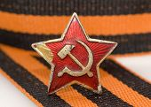 foto of nazi  - Red star and St - JPG