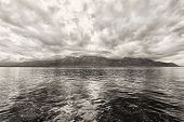 foto of montre  - Panorama of Geneva lake near Montreux - JPG