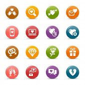Rainbow - Love and Dating icons / Navigation template
