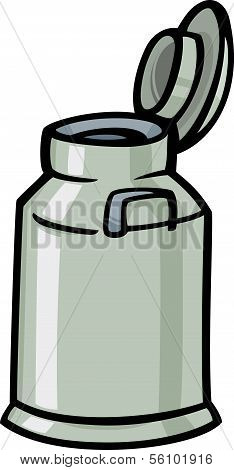 Milk Can Or Churn Cartoon Clip Art