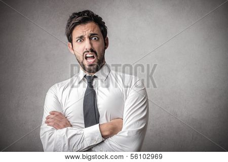 Shocked Businessman