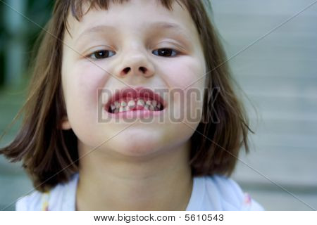 gap toothed girl