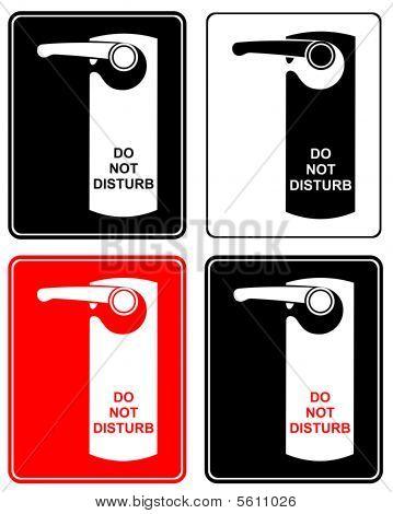 Do Not Disturb - sign