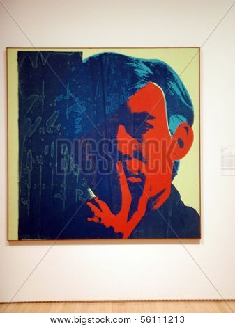 Screen Print Self-portraits Of Andy Warhol