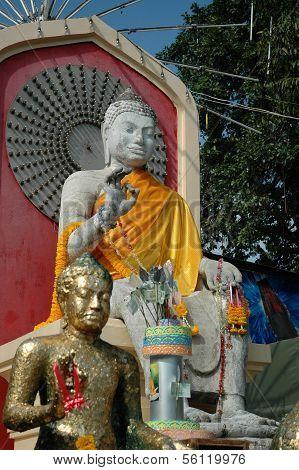 White Sandstone Buddha