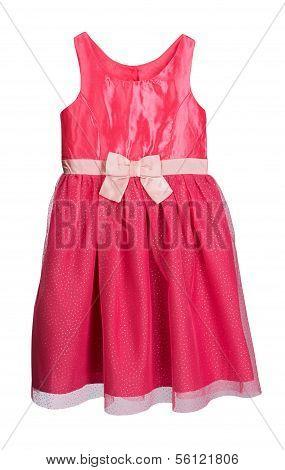 Red Festive Feminine Dress.