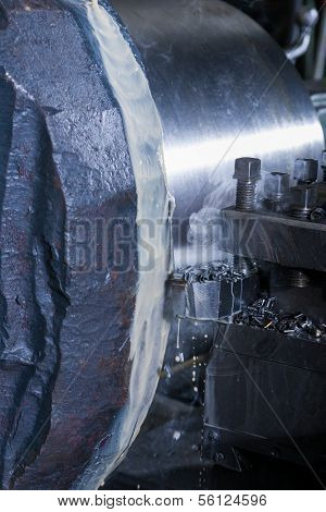 honing of steel pipe cooling with oil