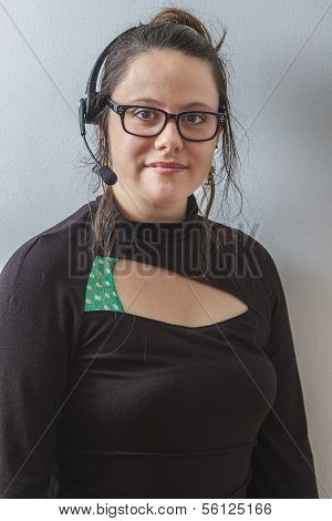 Female Phone Agent