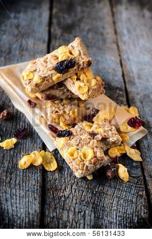 Cranberry And Corn Flakes Cookies