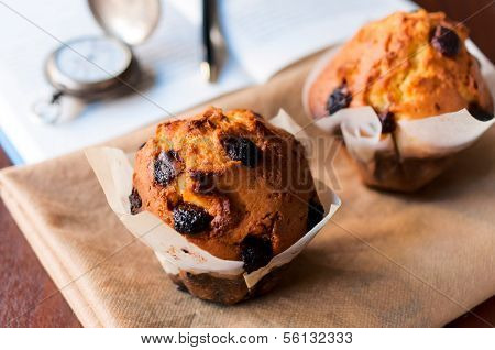 Cranberries And Muffins