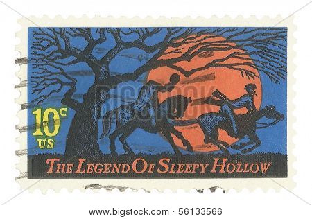 United States Stamp of Sleepy Hollow