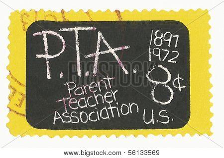 United States Stamp of Parent Teacher Association