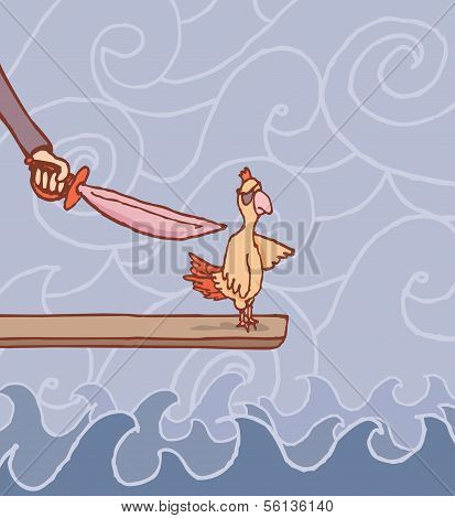 Walking The Plank or Punishing Scapegoat