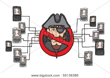 Piracy Network Banned or Sopa And Pipa Law
