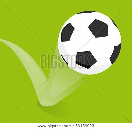Bouncing Soccer Ball or Football