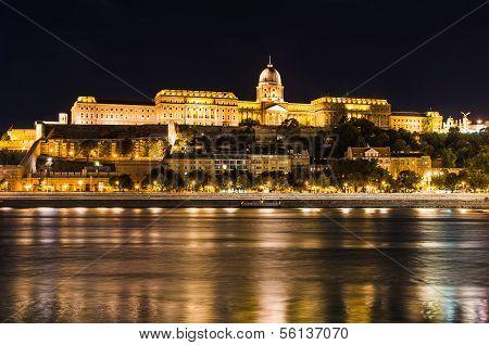 Buda Castle Night, Budapest