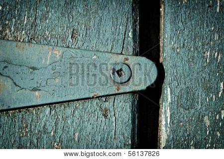 Old Green Hinge