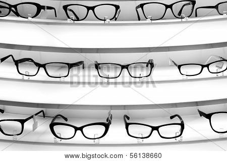Stand With Diopter Glasses