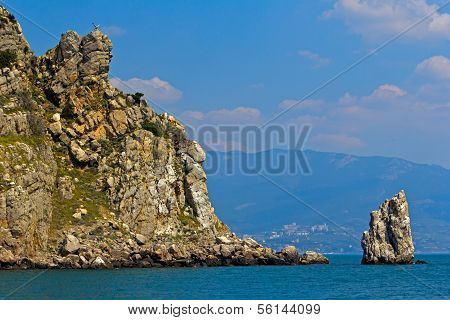 Rock And Sea, Gaspra