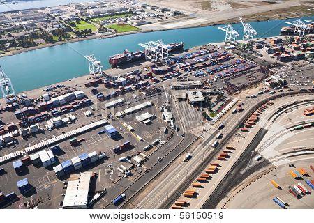 Port Of Oakland - Oakland, California, Usa