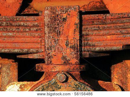 Train mechanical part