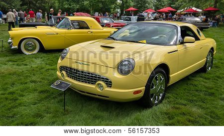 Generations: A 1955 & 2002 Ford Thunderbird, EyesOn Design, MI