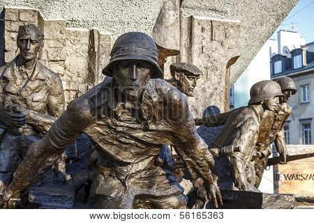 Monument To The Heroes Of 1944 Warsaw Uprising
