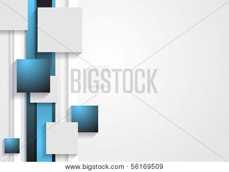 Abstract tech vector elegant background