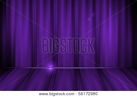 Abstract Lines Purple Background